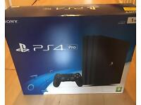 Brand new sealed PS4 pro