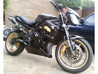TRIUMPH STREET TRIPLE R MOT--JULY 17, ***LOVELY CONDITION ***+ HEATED GRIPS ++++++