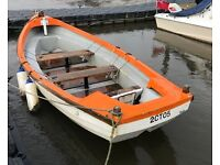 16ft OPEN GRP FISHING/WORK BOAT+OUTBOARD & FISHFINDER