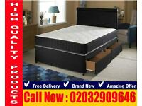 King Size frame , bedding Double and single trogon