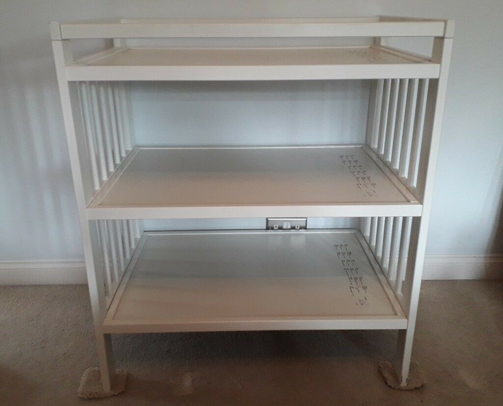 Ikea wooden changing table