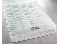 BRAND NEW Brooklyn 1400 Pocket Sprung Memory Foam Mattress 4ft6 Double (135 x 190 cm)