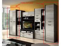 2-door + single-door cabinet / wardrobe (NEW unpacked)