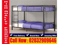 Bunk frame , bedding Double and single noncollective