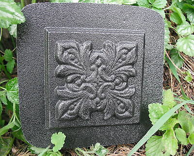 "Fancy plastic travertine tile mold 4"" reusable casting mould for sale  Shipping to India"