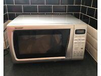 Silver Microwave - SHARP