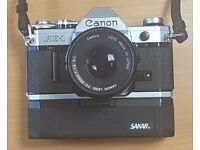 Canon AE-1 Camera with 50mm Lens