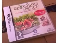 My Cooking Coach Prepare Healthy Recipes DS GAME Boxed