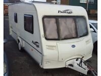 2004 Bailey Pageant Monarch 6 Series, 2 Berth. With Motor mover included. Separate end shower room.