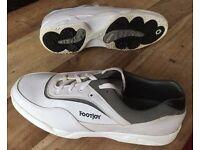 Footjoy Greenjoys White Golf Shoes Size 10