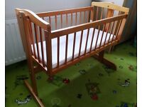 Wooden Crib from Babies R Us