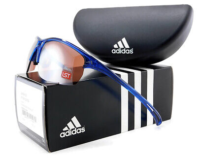 Adidas RAYLOR L Sport Sunglasses | Transparent Blue / LST Active Silver Mir (Adidas Lst Sunglasses)