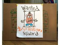 WANTED - Toys and Books