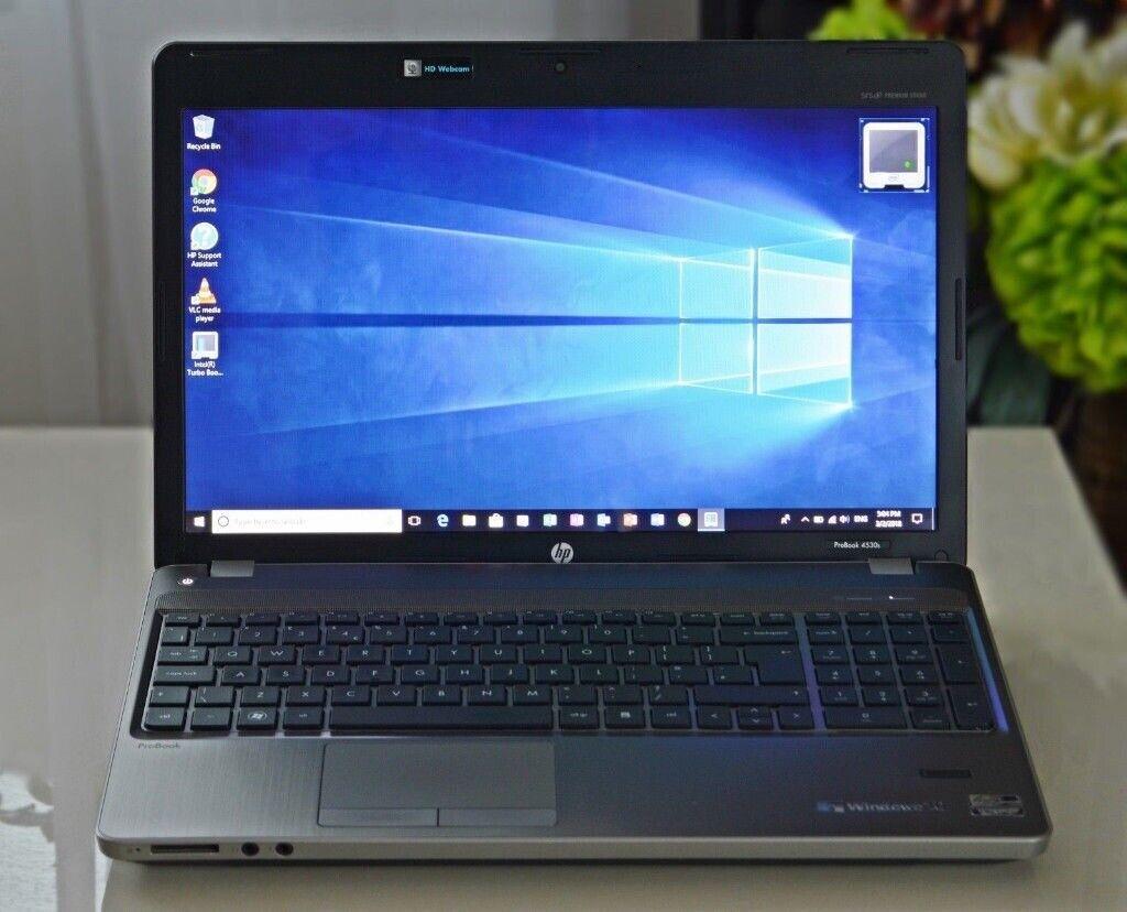 HP PROBOOK 4530S LAPTOP/ 15 6 INCH/ WIN 10 PRO 64BIT/MS OFFICE   in  Sparkhill, West Midlands   Gumtree