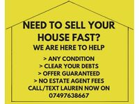 I BUY HOUSES IN THE WIRRAL AREA!!