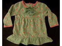 36 items joblot, bundle of baby girls sleepsuits Next M&S George Tu bodysuits 3-6
