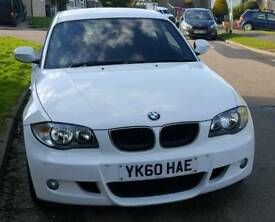 BMW 118i MSport in Alpine white with only 23800 miles