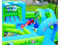 Bouncy castle Popcorn & Candy floss machine Chocolate fountain Soft play hire in London area h