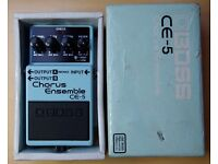 Boss CE-5 Chorus Pedal (grey label)