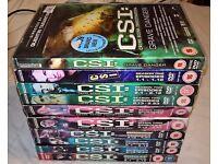 CSI (various) Seasons 1 - 6 and Grave Danger (Quentin Tarantino)