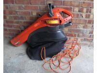 Flymo Garden Vac Leaf Blower and Shredder