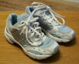 Adidas girls trainers size 10.5