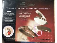 Travel Iron and Garment Steamer