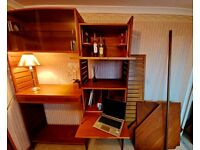 Ladderax Staples retro bookcase