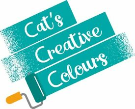 Painter and Decorator - Cat's Creative Colours