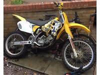 Suzuki rm 125 evo 1998 2 stroke not kx cr yz yfm 250 300 450