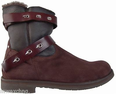 CESARE PACIOTTI FASHION SHEARLING SUEDE BOOTS US 12 ITALIAN DESIGNER MENS SHOES