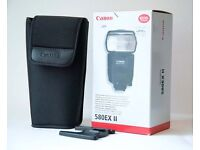 Canon Speedlite 580ex ii Flashgun