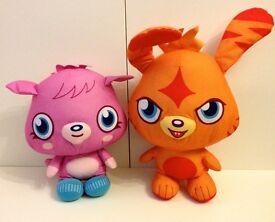 Moshi Monsters 45cm Soft Toys Katsuma and Poppet £3 each