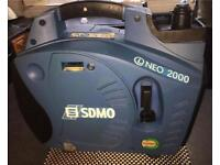 GENERATOR inverter NEO 2000 UK SDMO genny