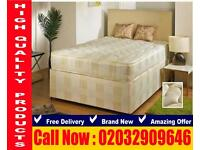 King Size frame , bedding Double and single townless