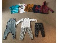 Boy's clothes bundle mixture of age 12-18mth & 18-24