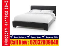 Single, Double ,Kingsize Leather frame , Bedding hovelled