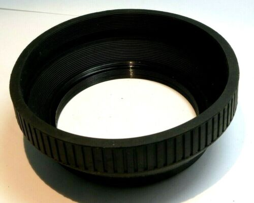 67mm Lens Hood Shade Collapsible Rubber double threaded screw 70-300mm
