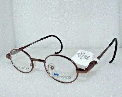 NEW LANTIS OPTICAL L8005 BRWN CHILDRENS KIDS EYEGLASSES GLASSES FRAMES 36-17-140