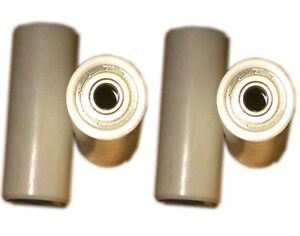 2 PAIRS, AB CIRCLE PRO REPLACEMENT ROLLER ROLLERS, WHEELS BEARINGS INCLUDED