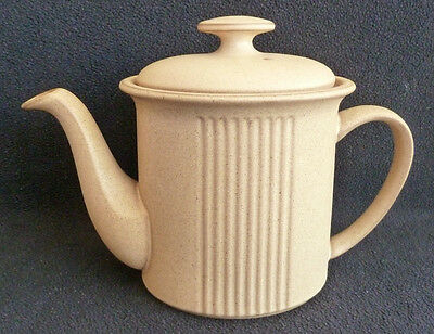 Denby Pottery Stoneware Chorus Sand / Sandstone 900 ml Large Teapot