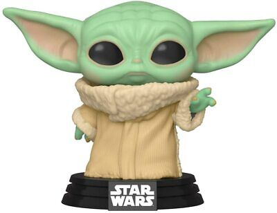 FLAWED BOX Disney Star Wars The Mandalorian The Chlid Baby Yoda POP Vinyl FUNKO