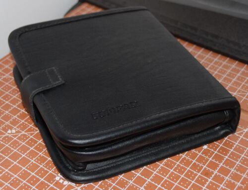 RARE! Leather Compaq hard drive case enclosure for storage vintage old-school