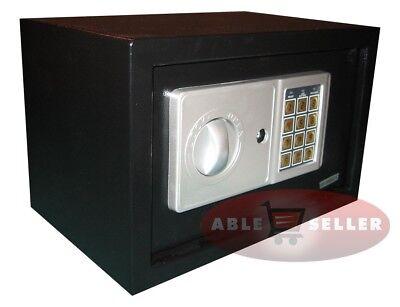 NEW DIGITAL ELECTRONIC SAFE SECURITY BOX WALL JEWELRY GUN CASH BLACK MEDIUM SZE