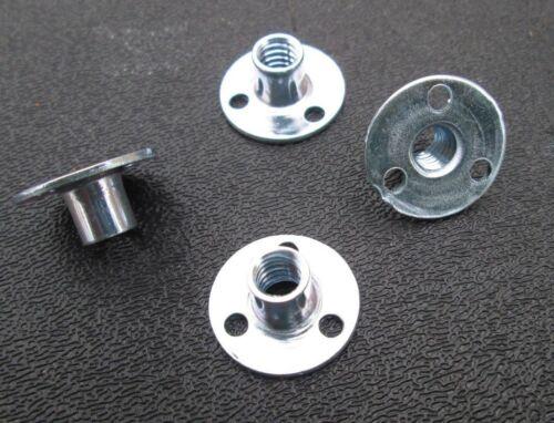1/4-20  Round Base Teenut Fastener Steel 1/4-20  (25)