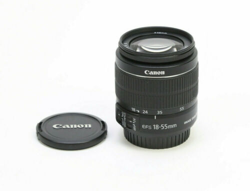 Canon EF-S 18-55mm f/3.5-5.6 IS II Lens - Excellent Condition w/ Caps