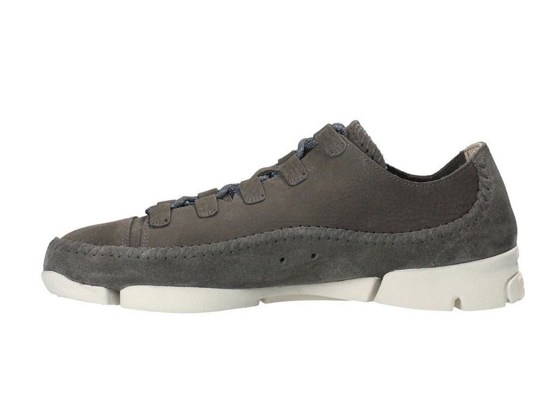 Clarks Originals Trigenic Flex 2 Grey Nubuck Casual Shoes  26128317 1