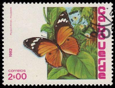 "CAPE VERDE 457 (Mi467) - Danaid Eggfly ""Hypolimnas misippus"" (pa57724)"