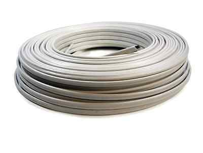 White Indoor Non Metallic Electrical Copper Jacket Wire 250-ft 14-2 Available