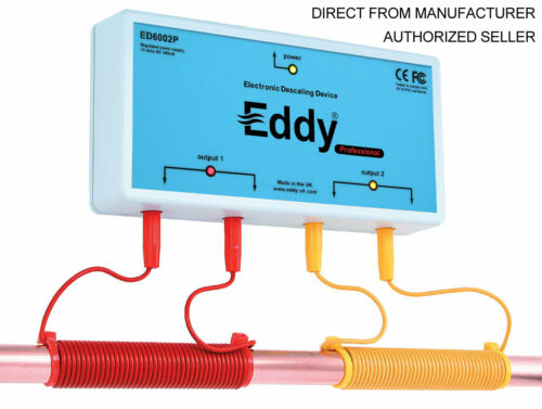 ED6002P-US  EDDY ELECTRONIC WATER DESCALER - Alternative to a Water Softener